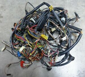 80 s Vw Cabriolet Rabbit Convertible Oem 1 8 Cil Complete Engine Wiring Harness