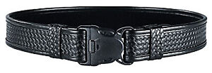 Bianchi 23704 Accuelite Basketweave 2 Width Duty Belt Size Medium 34 40