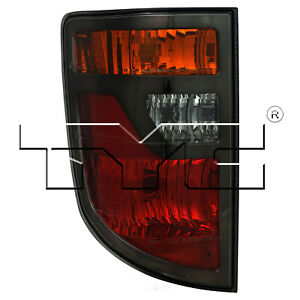 Tail Light Assembly Nsf Certified Left Tyc Fits 06 08 Honda Ridgeline