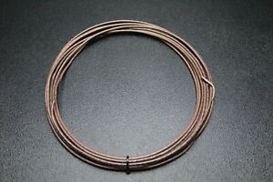 12 Gauge Thhn Wire Stranded Brown 50 Ft Thwn 600v 90c Machine Cable Awg