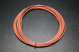 12 Gauge Thhn Wire Stranded Orange 100 Ft Thwn 600v 90c Machine Cable Awg
