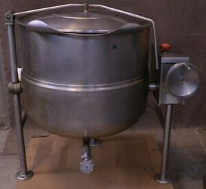 Cleveland Tlctd 60 Gallon Direct Steam Kettle Manual Tilt Tlctd60 Tilting Jacket