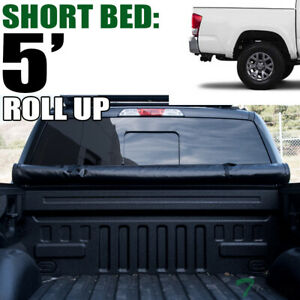 Topline For 2016 2020 Toyota Tacoma 5 Short Bed Lock Roll Up Vinyl Tonneau Cover