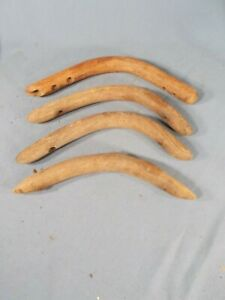 Vtg Bentwood Chair Hip Rest Wood Chair Back Support Furniture Parts 4 Pcs