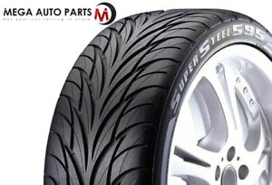 Federal Ss595 275 40r17 98v All Season Traction Performance Uhp Tires