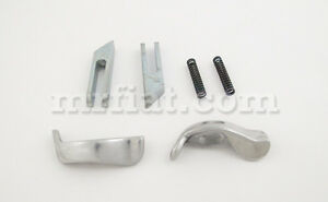 Fiat 500 N Bianchina Transformable Aluminium Soft Top Handles Set New