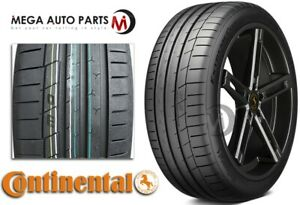 1 New Continental Extremecontact Sport 225 40zr18 92y Xl Tires