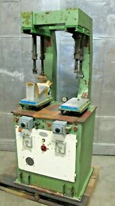 Shoe Repair Press Pressing Leather Machine Made In Italy