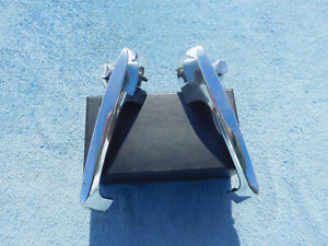 1957 1958 1959 1960 Ford Truck Chrome Outside Door Handle Pair