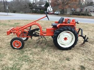 Very Nice Thomas Bilt Cultivating Tractor