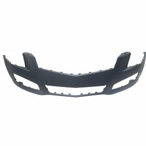 Front Bumper Cover For 2013 2014 Cadillac Ats Primed Plastic