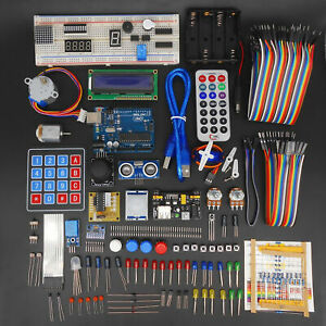 Ultimate Starter Learning Kit For Arduino Uno R3 1602 Lcd Servo Motor