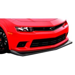 For Chevy Camaro 14 15 Front Bumper Lip Under Air Dam Spoiler Z28 Style Carbon