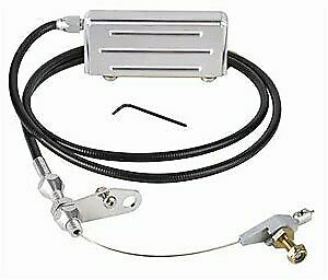 Lokar Kd 2400u Gm Th400 Stainless Steel Kickdown Cable Kit