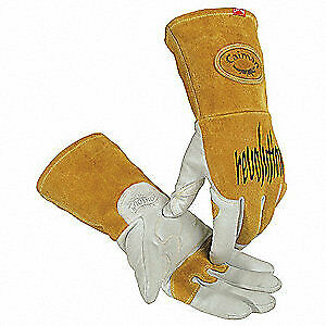 Caiman Welding Gloves tig 13 l pr 1868 5 White gold