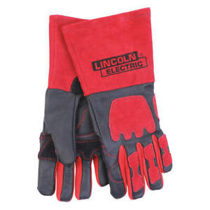 Lincoln Electric Welding Gloves mig stick 13 3 4 xl pr Kh962 Black red