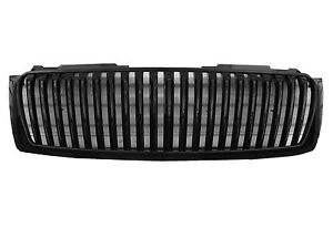 Chevrolet Tahoe Suburban Avalanche Sports Grille Front Grill Black 2007 2014