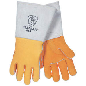 Tillman Welding Gloves stick 16 1 4 s pr 850s Gold