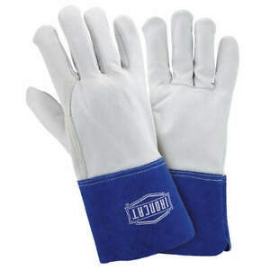 Ironcat Welding Gloves tig 12 xl pk12 6142 xl Pearl blue