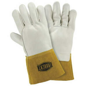 Ironcat Welding Gloves mig 12 xl pk12 6010 xl White gold