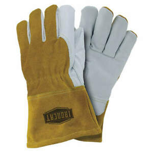 Ironcat Welding Gloves mig 12 xl pk12 6143 xl Pearl gold