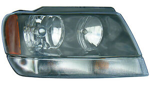 2002 2003 Jeep Grand Cherokee Laredo sport Passenger Right Side Headlight Lamp
