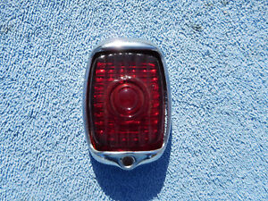 1937 1938 Chevy Tail Light Lens And Bezel