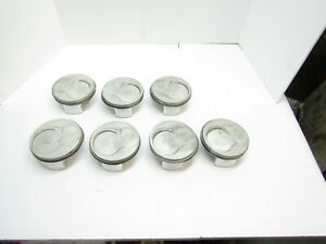 Cp Gas Ported Sb2 Chevy Domed Pistons 4 175 Bore Je Dragracing Ump Sbc