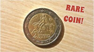 Authentic Rare 2 Euro Coin 2002 With An Error On The Back