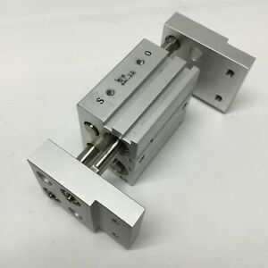 Smc Mhl2 20d Parallel Gripper 20mm Bore 40mm Stroke M5 Ports 0 1 0 6 Mpa