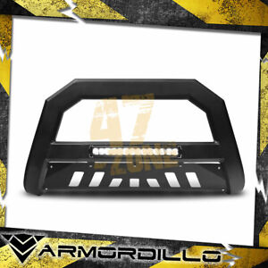For 2012 Toyota Tacoma Ar Series Bull Bar W Led Bull Guard W Skid Plate