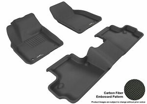 3d Fits 2007 2013 Volvo C30 G3ac84028 Black Waterproof Front And Rear Car Parts