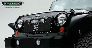 Ship From Usa Fits 2007 2013 Jeep Wrangler Gxtb90198 Durable Grille Aftermarket