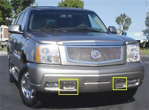 For 2004 Cadillac Escalade Ext T rex Bumper Valance Grille Insert Djtm