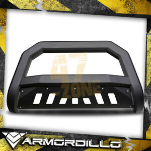 For 2003 Dodge Ram 1500 Matte Black Ar Series Bull Guard W Skid Plate