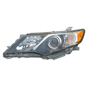 Headlight Fits Camry 2012 2014 Gtcau0c02557 Right Auto Parts Performance Car