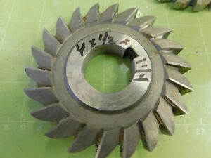 4 0 X 1 2 X 1 1 4 Hss Slitting Saw Slot Milling Cutter