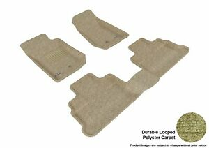 3d Fits 2007 2013 Jeep Wrangler G3ac33293 Tan Carpet Front And Rear Car Parts Fo