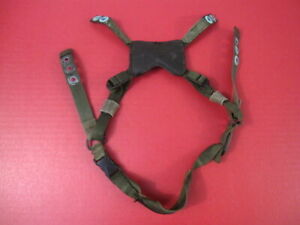 US Army GI Issued 4-Point Chin Strap Set for ACH & MICH Helmet - OD Green Color
