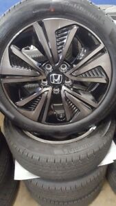 2019 Honda Civic 17 Oe Wheels Tires 4 Oem Rims Continental Pro Contact