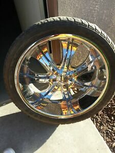 24 Inch Rims And Tires Used 6 Lugs