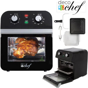 Air Fryer 12qt Xl Deco Chef Multi function Convection Oven Airfryer fry Healthy