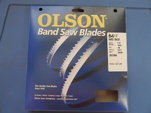 Olson Metal Band Saw Blade 64 1 2 Long X 1 2 Wide 18 Tpi 71864 New