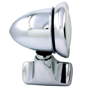 New Talbot Style Chrome Bullet Door Mount Side View Mirror Vintage Classic L R