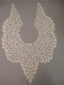 Antique Victorian Lace Bertha Collar