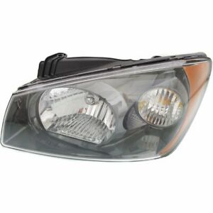 Headlight For 2004 2005 2006 Kia Spectra Left Halogen With Bulb