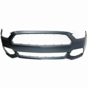 Front Bumper Ptm Primed For 2015 2017 Ford Mustang Except Shelby Model Capa