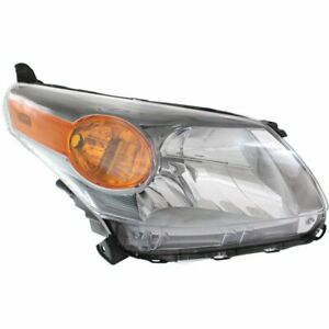 Headlight For 2013 2014 Scion Xd Base Right Clear Lens Halogen Composite Type