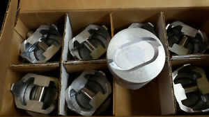 460 Ford Truck Pistons 030 Over Cast 1973 Thru 1978 Set Of 8