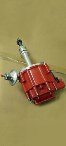 Small Block Ford 50k Volt High Performance Hei Distributor W Vacuum Advance Sbf